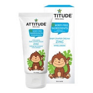 ATTITUDE Baby Diaper Zinc Cream, Fragrance-free, 75g - 嬰兒尿疹護臀舒緩軟膏, 無香味  | LOTUSmart (HK) - 香港樂濤