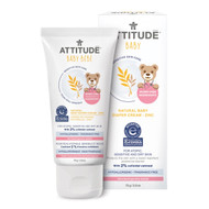 ATTITUDE Natural Baby Diaper Cream (Sensitive), Fragrance free, 75g -天然燕麥尿疹修護霜, 無香味 | LOTUSmart (HK) - 香港樂濤