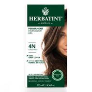 Herbatint Hair Color Gel, 4N Chestnut - 草本染髮劑, 4N栗子色 | LOTUSmart (HK) - 香港樂濤