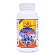 BILL Natural Sources BlueBuild Blueberry 36:1 Concentrate, 500mg, 120 Caps - 康加美藍莓精華, 500毫克. 120粒 | LOTUSmart (HK) - 香港樂濤