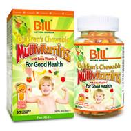 BILL Natural Sources Children's Chewable Multivitamins with Extra Vitamin C, 90s - 康加美兒童多維樂咀嚼片 | LOTUSmart (HK) - 香港樂濤