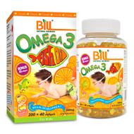 BILL Natural Sources Fish Oil for Kids, Orange Favour, 500mg, 240 softgels  -  康加美兒童香橙味魚油軟膠囊 | LOTUSmart (HK) - 香港樂濤