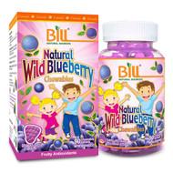BILL Natural Sources Natural Wild Blueberry Chewable (for Kids), 7000mg, 90's tablets  -  康加美兒童野生藍莓護眼咀嚼片 | LOTUSmart (HK) - 香港樂濤