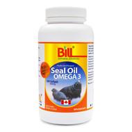 BILL Natural Sources Seal Oil Omega 3, 500mg, 300 softgels - 康加美海豹油500毫克軟膠囊 | LOTUSmart (HK) - 香港樂濤