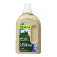 Seventh Generation Natural 4X Laundry Liquid, Free & Clear - 四倍超濃縮天然洗衣液, 無香味 | LOTUSmart (HK) - 香港樂濤
