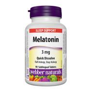 - Webber Naturals Melatonin -  褪黑激素(睡眠荷爾蒙)  | LOTUSmart (HK) Hong Kong - 香港 樂濤