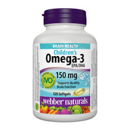 - Webber Naturals Children's Omega-3 - 兒童魚油軟膠囊 | LOTUSmart (HK) Hong Kong - 香港 樂濤