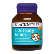 Blackmores Kids Fruity Fishies 30 Caps 兒童果味魚油丸( 30 粒軟膠囊裝) | LOTUSmart (HK) - 香港樂濤