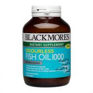 Blackmores Odourless Fish Oil 1000mg 90 Caps 無腥味魚油 (90 粒軟膠囊裝) | LOTUSmart (HK) - 香港樂濤