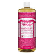 - Dr. Bronner's Rose Natural Organic Liquid Soap, 32oz (946ml), Made in USA, available in LOTUSmart, Hong Kong - 玫瑰天然有機皂液, 香港樂濤有售 - UPC Code 018787778326 - http://www.lotusmart.com/dr-bronners-rose-liquid-soap-32oz/