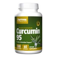 Jarrow Formulas Curcumin 95, 500mg 60 capsules 薑黃素 60粒膠囊 | LOTUSmart (HK) - 香港樂濤