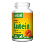 Jarrow Formulas Lutein 20mg 60 softgels 葉黃素20毫克, 60粒軟膠囊 | LOTUSmart (HK) - 香港樂濤