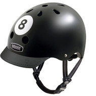 - Nutcase Helmet, 8 Ball, Bicycle Helmets  - 單車頭盔, 8號頭盔  | LOTUSmart (HK) Hong Kong - 香港樂濤 -Front view with Visor