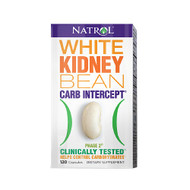 Natrol White Kidney Bean, Carb Intercept with Phase 2 Starch Neutralizer Capsules 120 ea 第二代澱粉中和劑 | LOTUSmart (HK) - 香港樂濤
