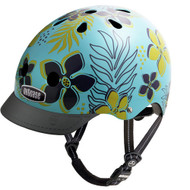 - Nutcase Hula Blue, Nutcase 頭盔, bicycle helmet, 單車頭盔, kids helmet, 兒童頭盔, 小童頭盔, Nutcase, Nutcase 香港, Nutcase Hong Kong,  - Front View with Visor