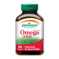 Jamieson Omega 3-6-9, 80 capsules 奧米加3-6-9 | LOTUSmart (HK) - 香港樂濤