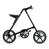 - STRiDA LT - Black - Side View - Strida Bike, LOTUSmart, Bicycle, Folded bicycle, STRiDA LT Bike  - http://www.lotusmart.com/strida-lt-bike-black/