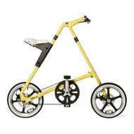 STRiDA LT Bike - Mustard - Side View - Strida Bike, LOTUSmart, Bicycle, Folded bicycle, STRiDA LT Bike  - http://www.lotusmart.com/strida-lt-bike-mustard/
