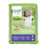 Seventh Generation Free & Clear Baby Diapers, Stage 6 - 無氯防敏嬰兒紙尿片 (雙加大碼) | LOTUSmart (HK) - 香港樂濤