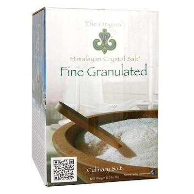 Fine Granulated Original Himalayan Crystal Salt (1kg) 喜瑪拉雅山水晶幼鹽(1公斤) | LOTUSmart (HK) - 香港樂濤
