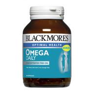 Blackmores Omega Daily 60 Caps 高濃度深海魚油日常配方 (60 粒軟膠囊裝)