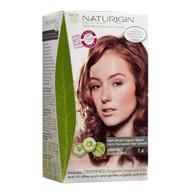 Naturigin Natural Essence Hair Dye - Medium Blonde Red 7.4 - 天然修護精華染髮 - 金紅色 7.4