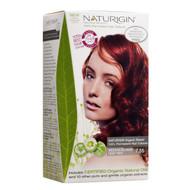 Naturigin Natural Essence Hair Dye - Medium Blonde Deep Red 7.55 - 天然修護精華染髮 - 深金紅色 7.55
