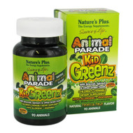 Nature's Plus Animal Parade KidGreenz, Children's Chewables ( 90 ea ) - Tropical Fruit Flavor - 兒童綠色蔬菜糖(90粒) | LOTUSmart (HK) - 香港樂濤