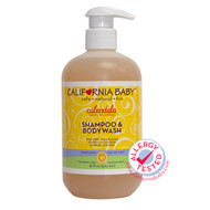 - California Baby, Calendula Shampoo & Bodywash, 562ml (19 fl oz) 加洲寶寶 防濕疹金盞花洗髮及沐浴液
