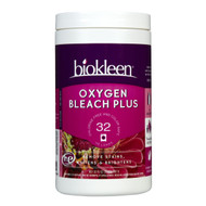 Biokleen Oxygen Bleach Plus - Chlorine Free & Color Safe, 32oz, 天然濃縮無氯漂潔粉 | LOTUSmart (HK) - 香港樂濤