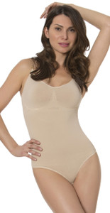 Bodysuit with buit-in bra and underwire - Full bottom panty