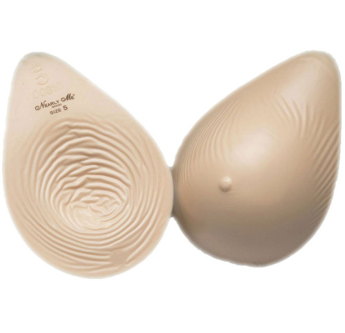 Extra Lightweight Tapered Oval Breast Form
