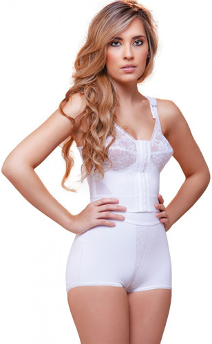Front Close Longline Bra with Back Support