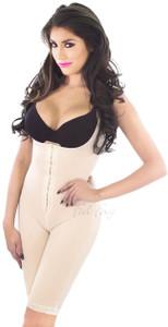 Mid-Thigh Bodysuit w/ Front Hooks