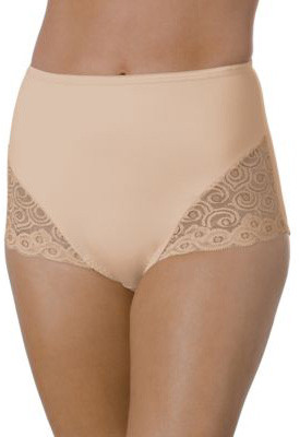 Bali Moderate Control Lace Leg Brief 2-Pack