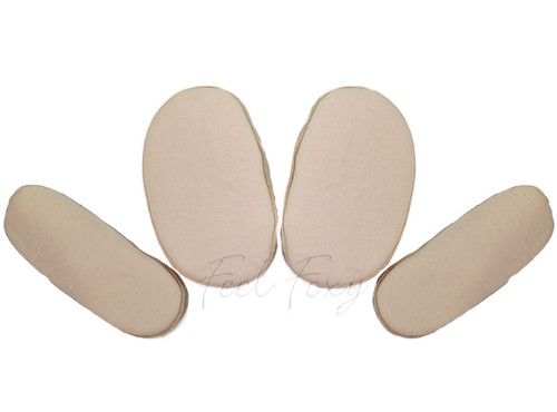Foam Hip & Butt Pads Set