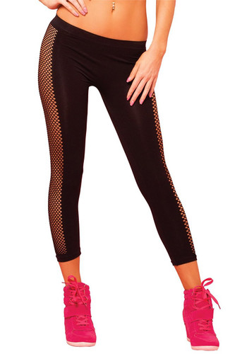 Pure Performance Side Net Pant