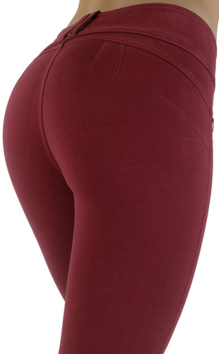 Butt Lift Pant 1119 Burgundy