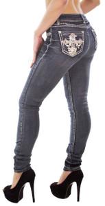 Feel Foxy Crystal Jeans