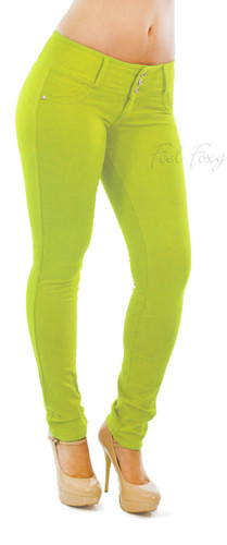 Butt Lift Pant 1119 Amarillo Neon
