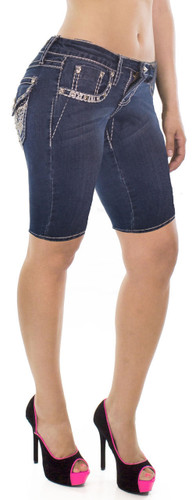 Knee Length Pocket Shorts