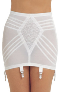 Open Bottom Girdle Firm Shaping With Garters
