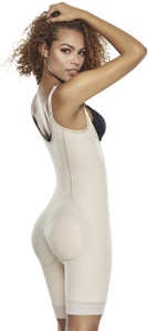 Firm Control Bodysuit with Removable Pads