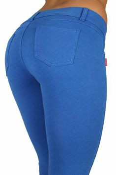 Butt Lift Pant 1118 Blue