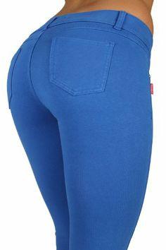 Butt Lift Pant 1118 Blue