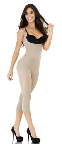 Full Body Thermal Braless Capri