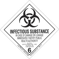Online Infectious Substances Cat A & B: IATA/49CFR