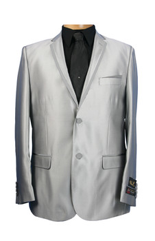 2 Button Slim Shark Trim by Falcone - 3 Colors Available