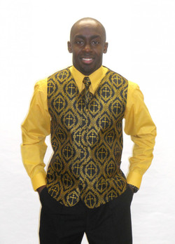 Designer Clergy Vest Set