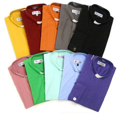 (4) TAB COLLAR CLERGY SHIRTS FOR $119.99 ! -- 35 Colors Available